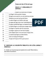 Prueba Del Libro El País Del Agua.