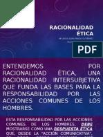 RACIONALIDAD ÉTICA