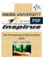 The Entreprenuership Summit, 2010 Nw