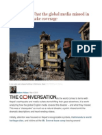 Classquake What the Global Media Missed in Nepal Earthquake Coverage