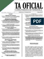 Gaceta Oficial Número 40.655. Mayo 07%2c 2015