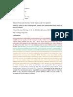 Elaboração de documento científico IRD