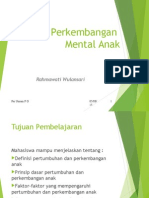 K6 - Perkembangan Mental Anak Blok MH, 2014