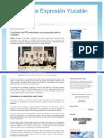 08-05-2015 Candidatos del PRI presentaron sus propuestas ante la Canadevi.