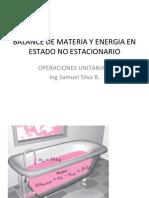 001 - Balance Mat y Energia en Estado No Estacionario
