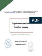 Raport Evaluare Bunuri Martin Bauer SRL