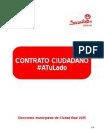 Contrato Ciudadano PSOE Ciudad Real