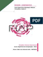 Sistemas Operacionais - Hypervisors