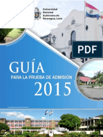 Guia Prueba Admision2015