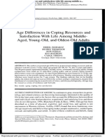 Age Differences Satisfaction With Life