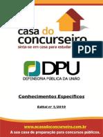 Apostila DPU.2014 ConhecimentosEspecificos