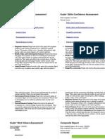 kuder summary page