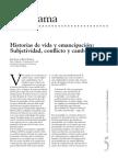 Historias de vida y emancipación. Subjetividad, conflicto y cambio social