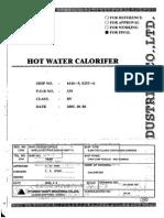 Boiler Apa Calda Tehnica