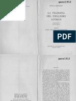 HARTMANN, N. - La Filosofía Del Idealismo Alemán (t. I - Fichte, Schelling y Los Románticos) [Por Ganz1912]
