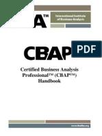 CBAP Handbook1