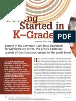 wk 3 common core article