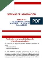 SI_Sesmunicaciones, Internet y La Tecnología Inalámbrica