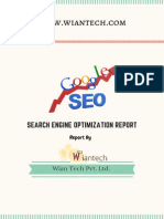 Pre SEO Analysis Report