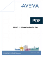 PDMS 12.1 Drawing Production