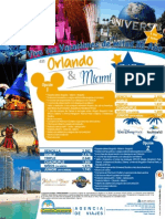 Itinerario Orlando y Miami