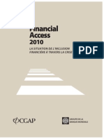 CGAP Financial Access 2010 French