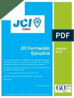 JCI Formación Ejecutiva Six Sigma Feb 2015
