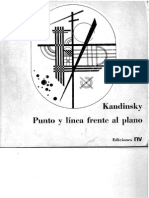 Kandinsky, Wassily - Punto y Linea Frente Al Plano - Libro Completo