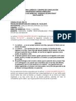 Consulta Responsabilidad Civi Extracontractual