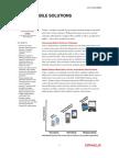 Siebel Mobile Solutions Data Sheet