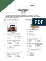 Soalan BM Tahun 3 Ujian 2