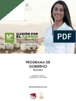 Programa electoral Izquierda Unida y Alternativa Alcalareña