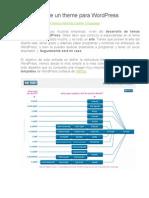 Estructura de Un Theme Para WordPress
