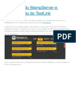 Instalação Do WampServer e Configuração Do TestLink