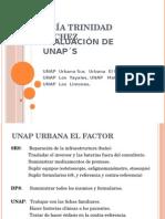 Evaluación de UNAPs María Trinidad Sánchez