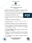 Manifiesto Bancada Animalista