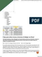 Excel Tips La Nacion