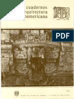 Cuadernos de Arquitectura Mesoamericana 07. 1986