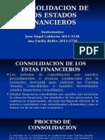 CONSOLIDACION DE LOS ESTADOS FINANCIEROS.ppt
