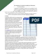 Pureza Del Aceite Nuevo y Reportes de Lab