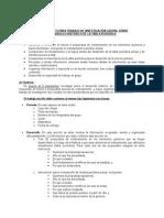 Instrucciones Para Trabajo de Investigación Grupal Sobre