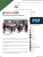 26-04-15 Presenta Maloro Acosta Proyecto de Movilidad Urbana