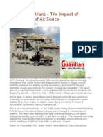 Bombing Civilians -The Impact of Military Use of Air Space