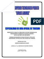 Propuesta_creación de Una Empresa de Transporte Tco Fluvial Rápido