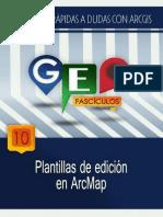 Plantillas de Edicion en Arc Map