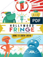 2015 Hollywood Fringe Festival Guide