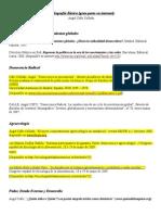 Bibliografía Básica. Bases Sociológicas de La Agroecología y Ecología Política