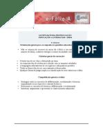 E-folio A Educação e Literacias 2015 critérios de correção para os estudantes