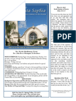 Bulletin for May 10, 2015