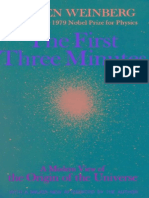 First Three Minutes_ a Modern View of the Origin of the Universe, The - S. Weinberg